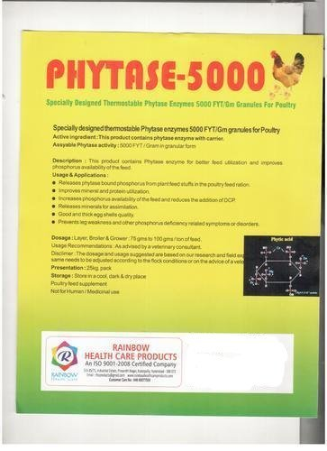 Phytase-5000 (Thermostable Phytase Enzymes)