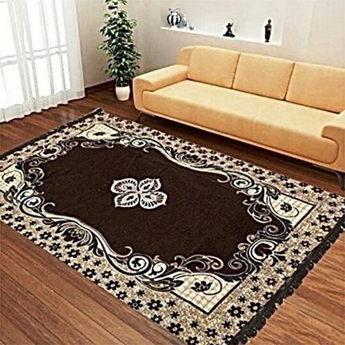 Machine made chenille carpets
