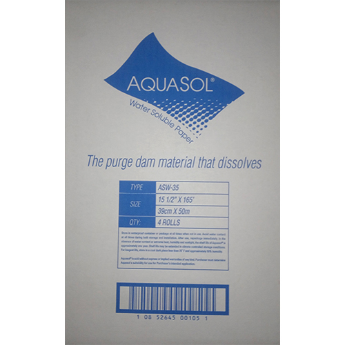Water Soluble Purging Paper