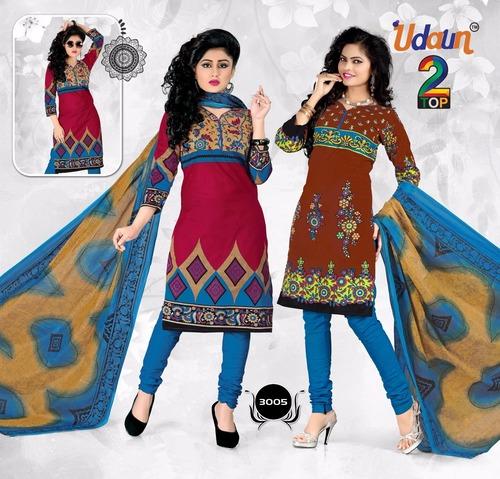 Udaun Cotton Printed Dress Material