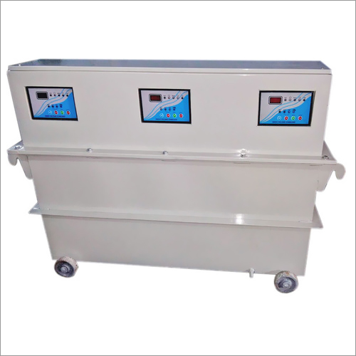 3 phase oil cooled servo voltage stage