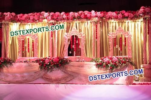 Beautiful Fiberglass Panels for Wedding Stage
