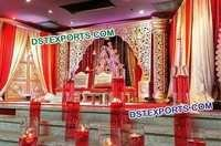 Mughal Decor For Wedding Reception Stage