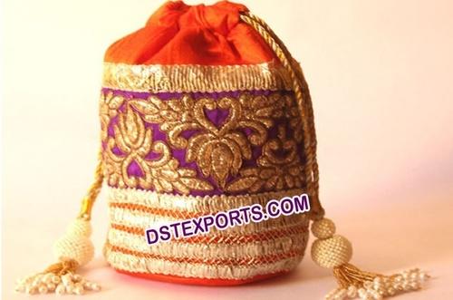 Ladies Fancy Gift Potli Bags