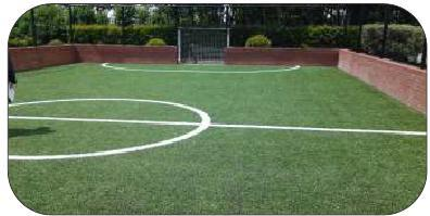 Mini Football Court with Artificial Grass