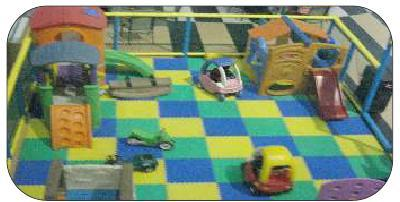 Flooring  Structure Play Area