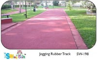 Jogging Rubber Track