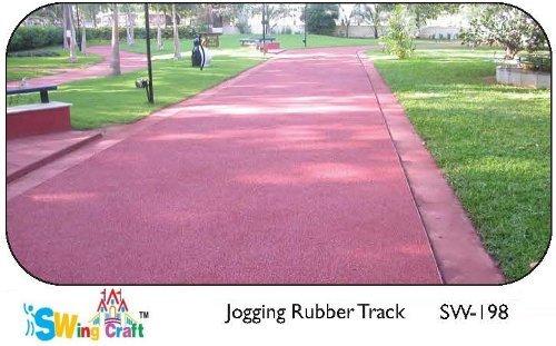 Jogging Rubber Track
