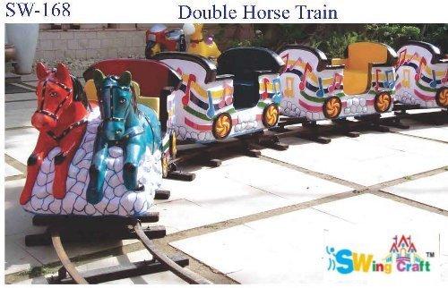Double Horse Kids Train