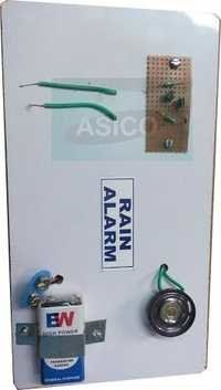 Rain Alarm Working Model