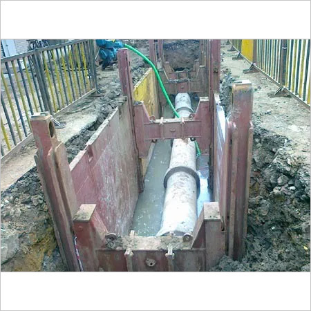 Slide Rail Trench Shoring Systems