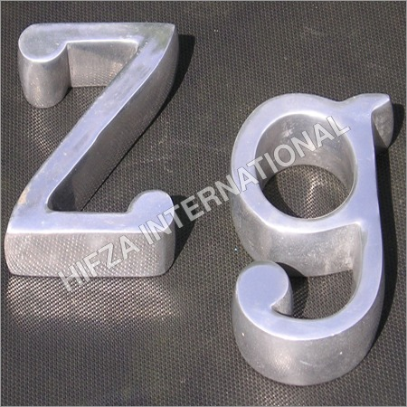 Aluminum Wall Letters