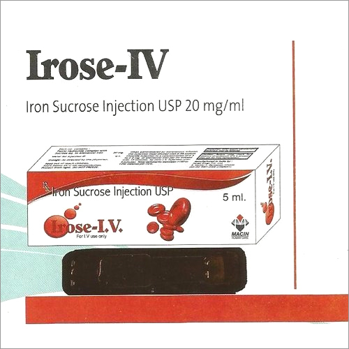 Iron Sucrose Injection USP 20 mg