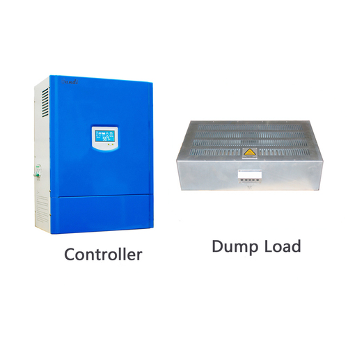 off-grid wind solar system charge controller with dump load