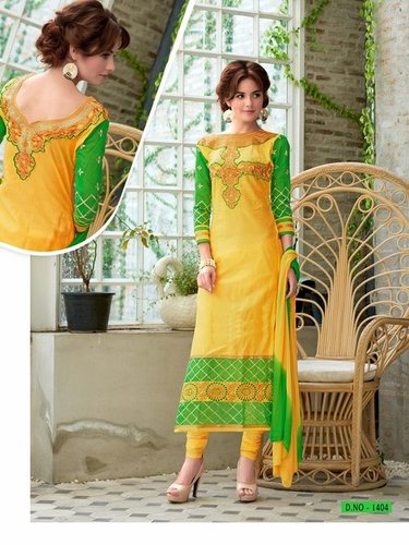 Exclusive Georgette Straight Salwar Suit