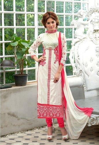 Exclusive Georgette Straight Salwar Suit