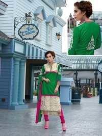 Designer Embroiderd Dress Material