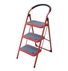 3 Step Iron Ladder