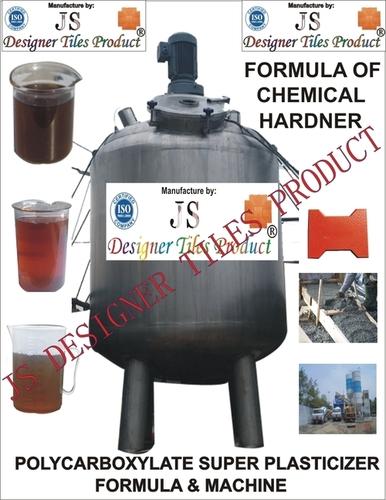 Polycaroboxylate Ether Superplasticizer Formula & Machine