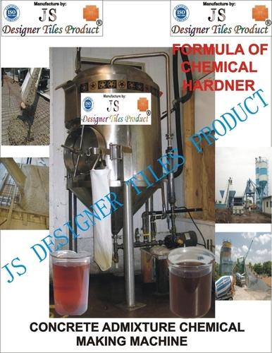 Concrete Admixture Chemical Hardener Formula & Machine