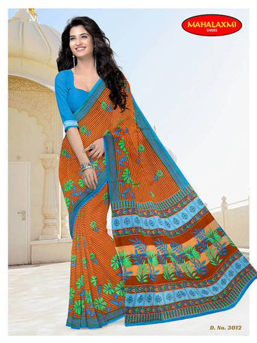 Cotton Printed Wholesale Sarees