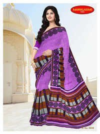 Latest Cotton Printed Sarees Wholesale