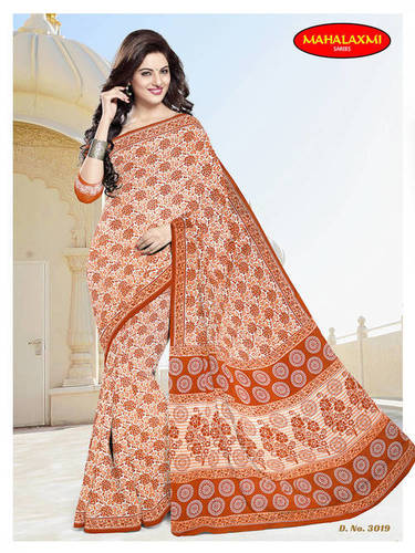 Pure Cotton Sarees Jetpur