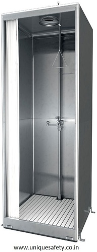 Cabinet Type Eyewash & Shower in Stainless Steel