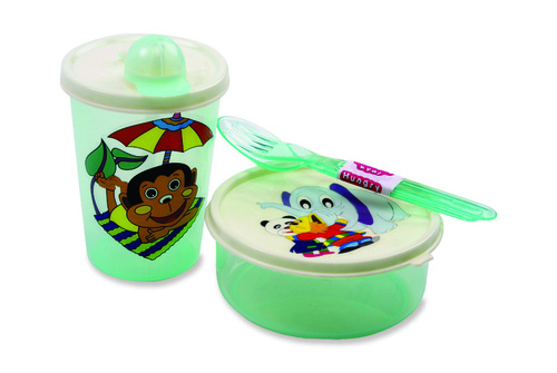 Lunch Container with Sipper