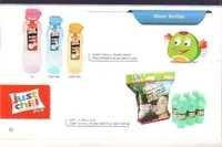 6 pc Poly Pack Water Bottle