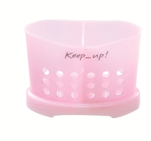Pink Brush Holder