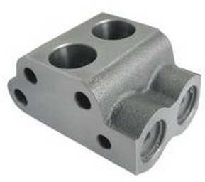 Hydraulic Pump Valve Chamber Body With Valve Assly. MF-1035