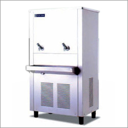 Two Taps Stainless Steel Water Cooler