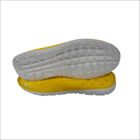 Double Color Rubber Eva Sole