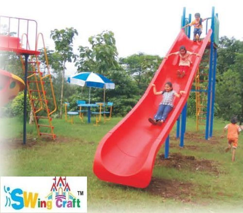 Large Crescent Slides for Playground