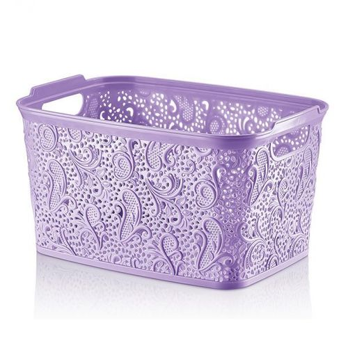 Floria Lace Practical Basket