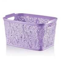 Floria Lace Practical Basket