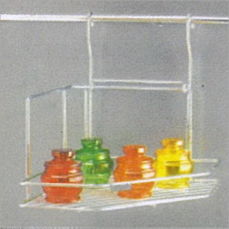 SS Corner Rack (Single Tier)