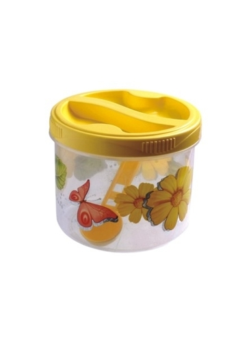 Yellow Bio Safe Container