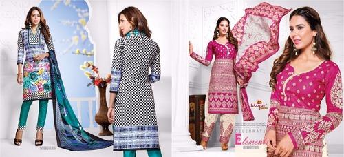 Cotton ladies Suits Materials