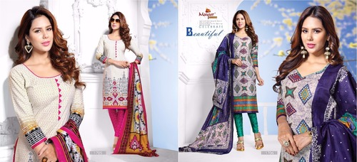 Printed Cotton Suits Supplier