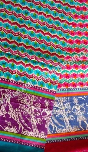 Cotton Printed Fabrics Kurtis Materials