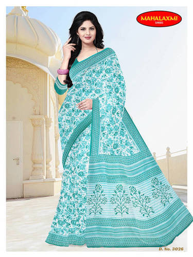 Premimum Cotton Sarees With B.P.