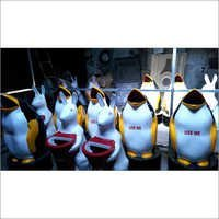 Penguin & Rabbit Dustbins