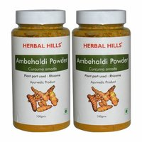 Ayurvedic Ambehaldi powder 100gm - Healhy Digestion (Pack of 2)