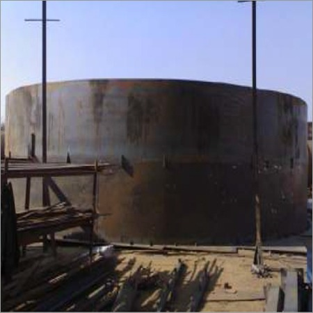 10meter Dia Demi-Oil Tank In Mock Up Assembly