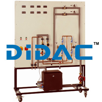 Trainer Tubular Heat Exchanger Apparatus