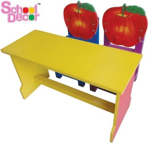 Kids Pre School Dual Desk