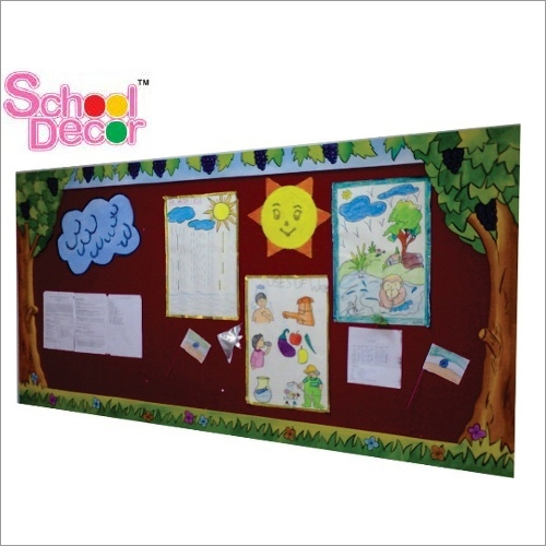 Designer Display Board - Tree Theme