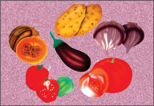 DECO Vegetable Cut Out
